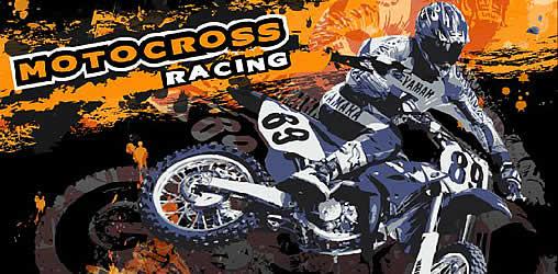 Motocross Spiel