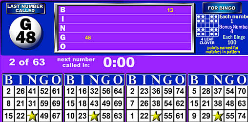 kostenlose bingo spiele