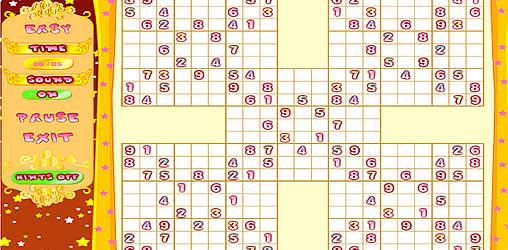 samurai sudoku kostenlos