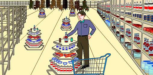 Supermarkt Spiel
